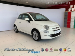 Fiat 500C 1.2 8v 69ch Eco Pack Lounge Euro6d 06-Alpes Maritimes